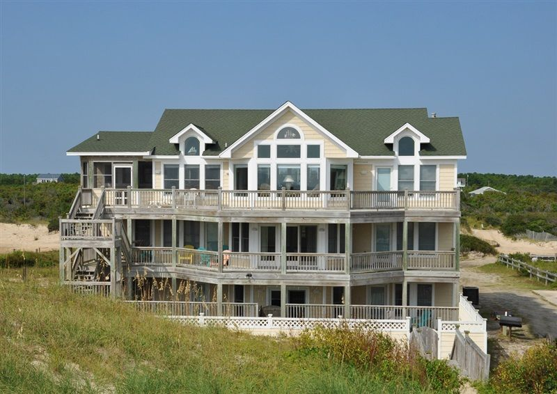 Twiddy outer banks vacation home sun king ii 4x4 oceanfront 9 bedrooms
