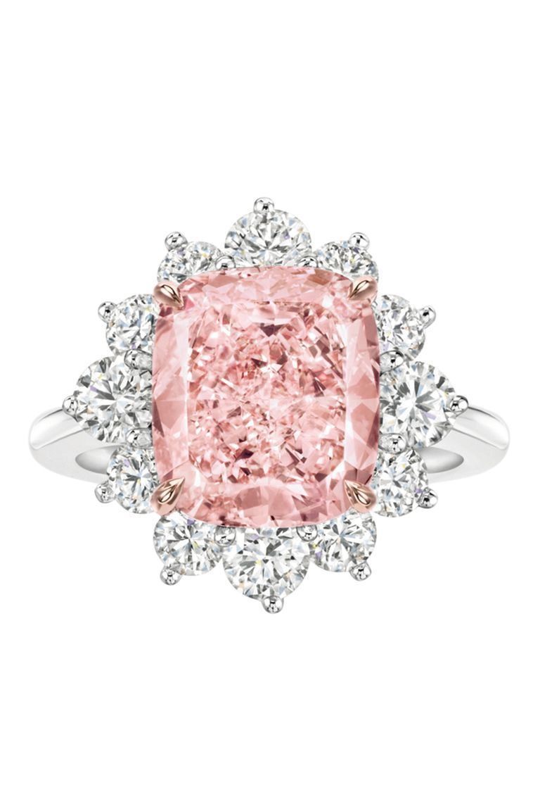 Harry Winston Pink Diamond Ring #Diamondsjewellery | 宝石 ...