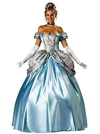 Elite Enchanting Princess Adult Costume birthday ideas - princess halloween costume ideas