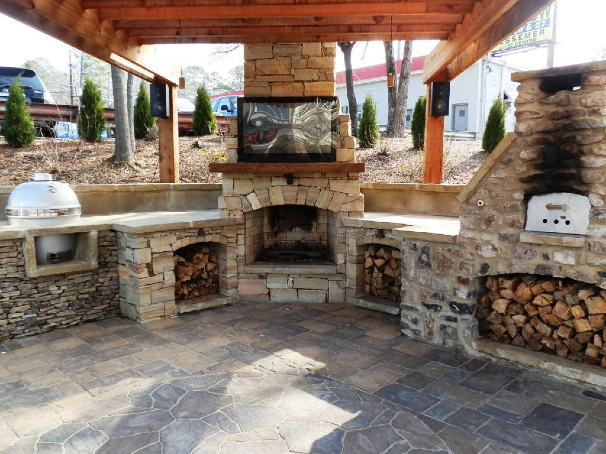 Corner Outdoor Fireplace Kits Lowes Paint Colors Interior