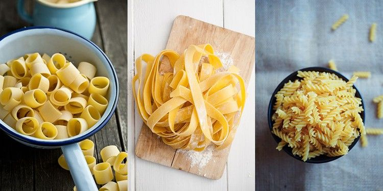 The A Z Of Pasta Shapes The Long The Short And The Twisty Delish Uk Pasta Shapes How To Cook Pasta Twisty Pasta