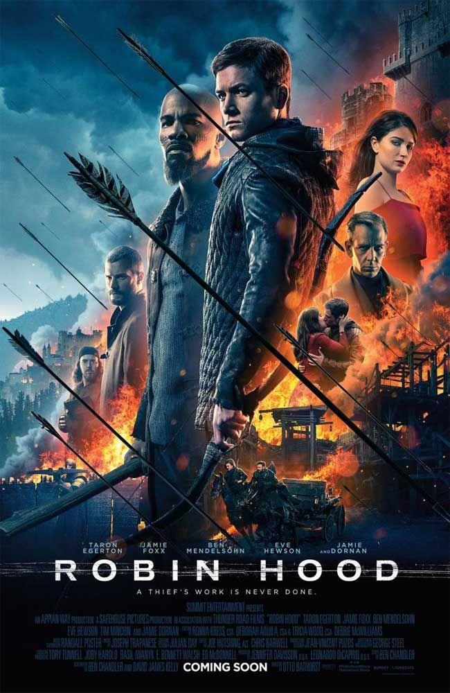 Robin Hood 2018 Pelicula Completa En Espanol Latino Castellano English Movies Robin Hood Movie Posters