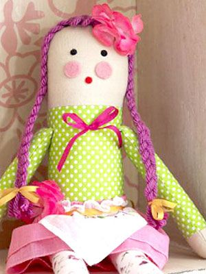 Rosie the rag doll pattern and tutorial