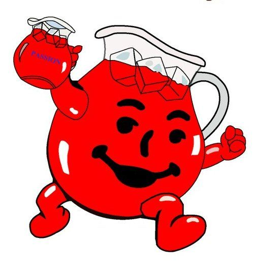 Pin by woodstock on shooting starz rip pinterest kool for Kool aid man coloring pages