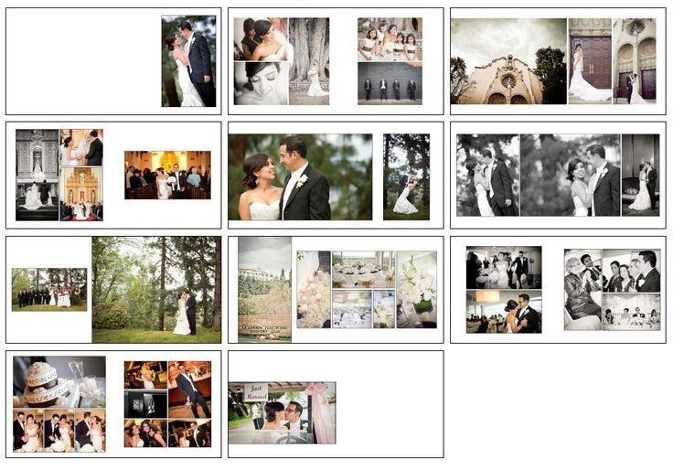 17+ images about Wedding Album Layouts on Pinterest | Wedding ...