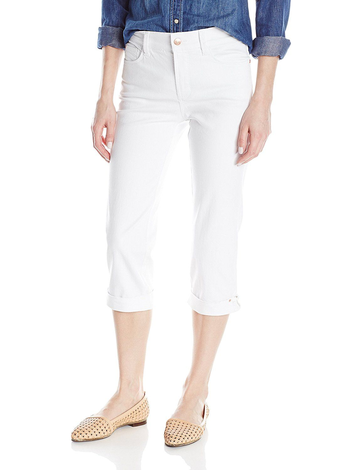 1e23038a526 NYDJ Women s Ariel Crop Jeans-Hem Novelty Clasp     This is an Amazon  Affiliate link. Check out the image by visiting the link.