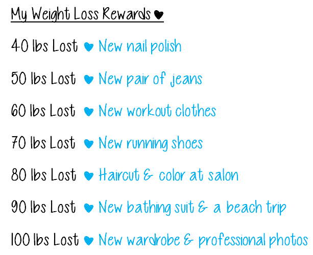 Weight loss rewards also ideas for baby doodah print this out and rh pinterest