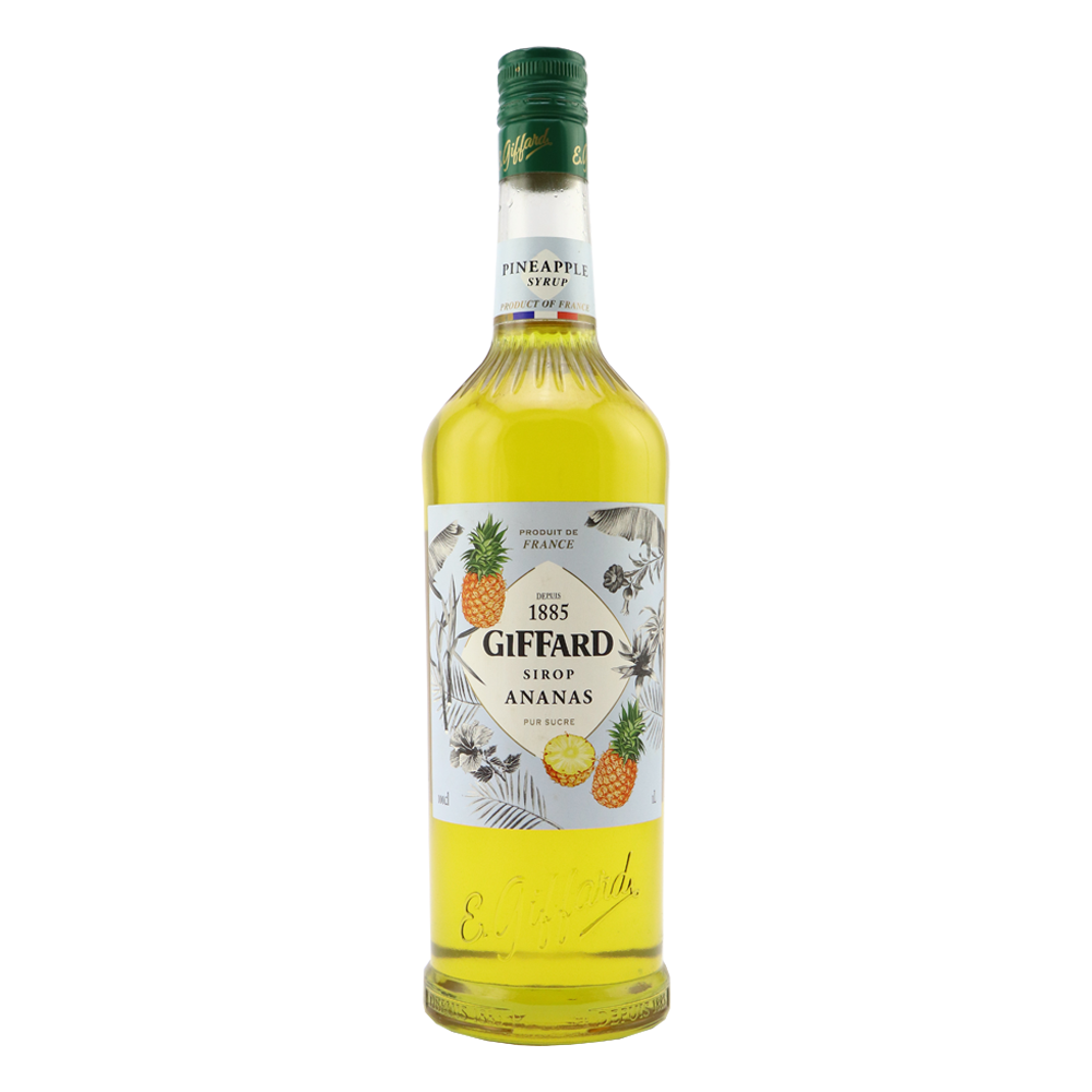 GIFFARD Pineapple Syrup Pineapple syrup
