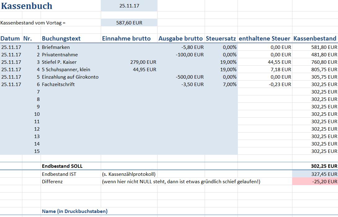 Das Ordnungsgemasse Kassenbuch So Geht S Kassenbuch Bucher Kasse