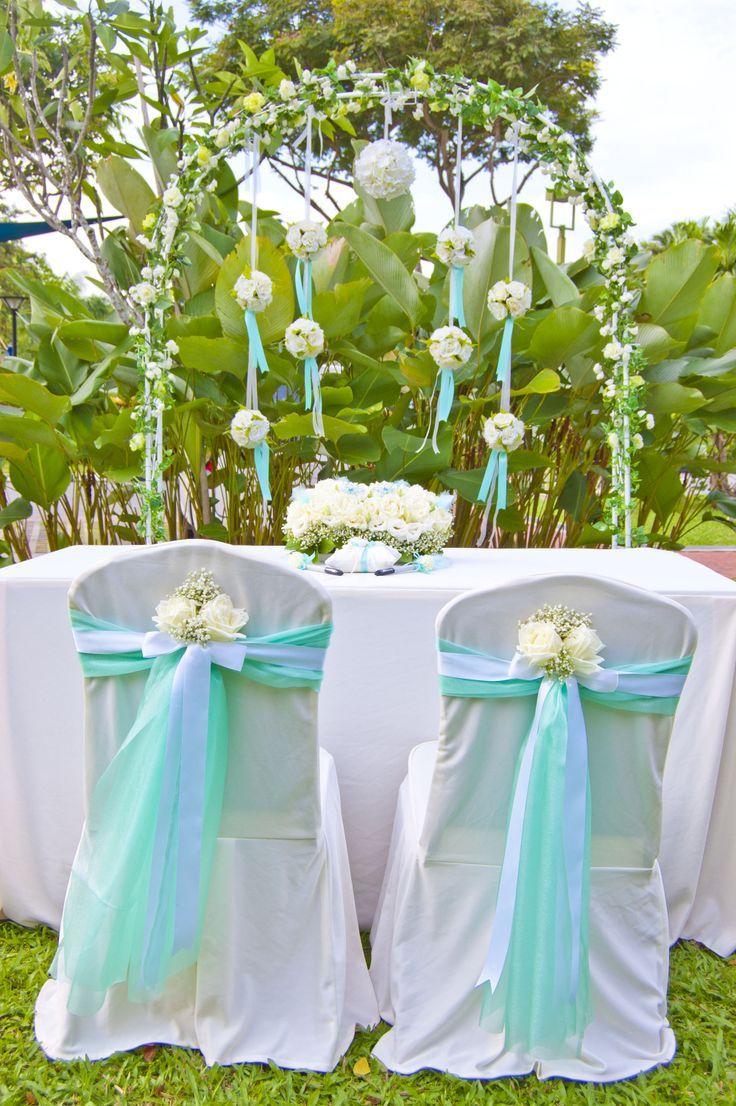 Tiffany Blue Wedding Tiffany Theme Solemnization Setting