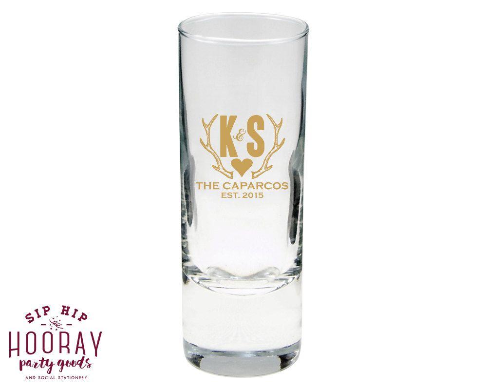 Wedding Shot Glass, Shooters, Shot Glasses, Wedding Shot Glass ...