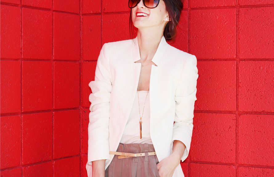 Three Looks by Nicole Levine of Frankie Hearts Fashion for The Everygirl