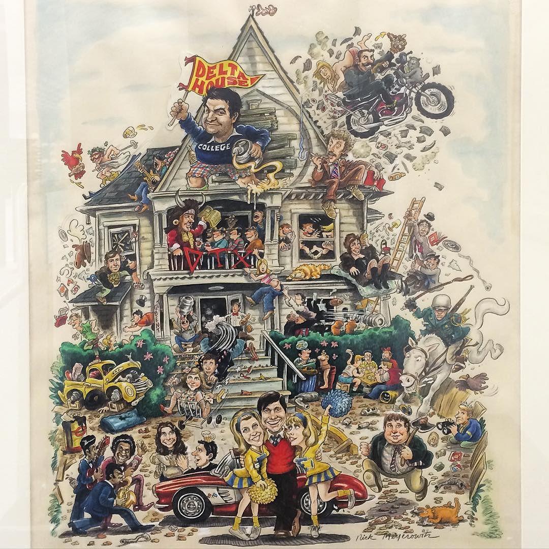 #original #nationallampoon #animalhouse Poster Art #