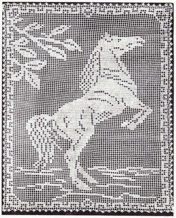 Horse Crochet Filet | Crochet | Pinterest | Horse, Crochet and Filet ...