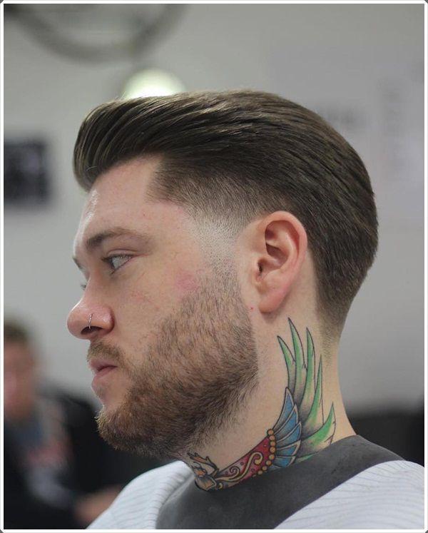 Peinado Hacia Atras Hombre
