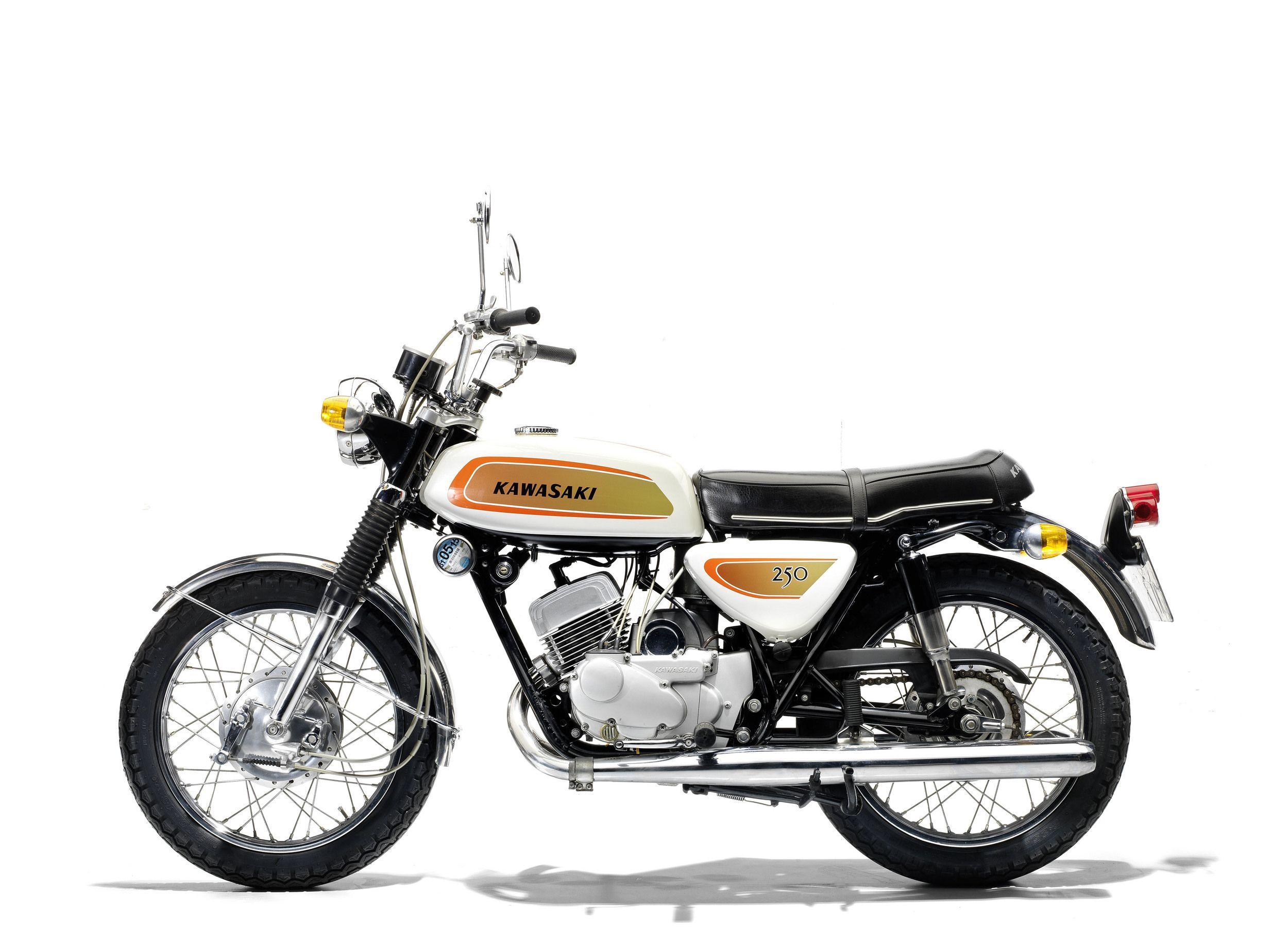 Kawasaki 250cc A1 Samurai