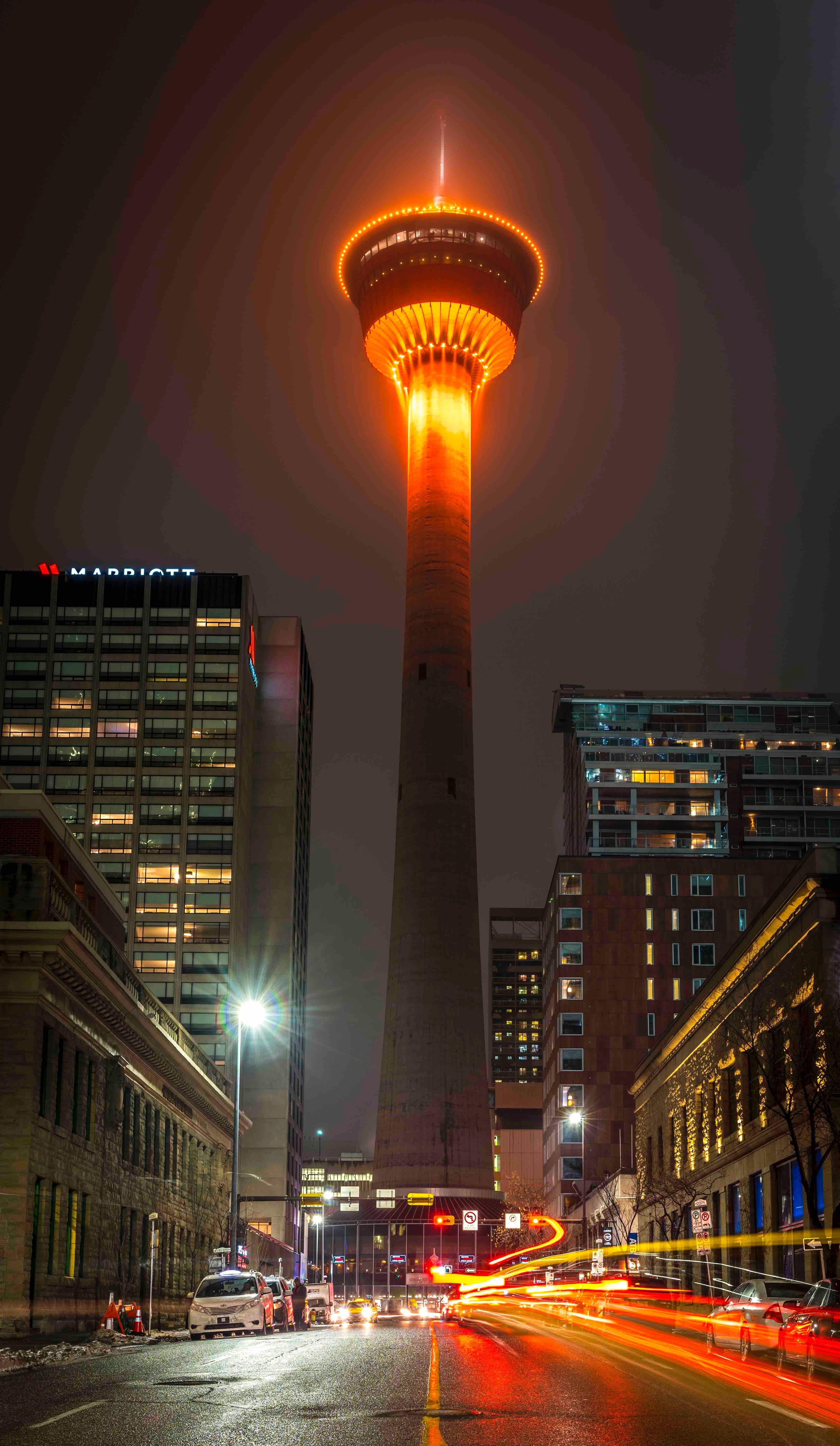 It S Glowing In Calgary Canada Lights Around The World