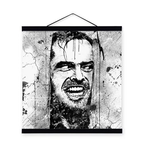 En güzel dekorasyon paylaşımları için Kadinika.com #kadinika #dekorasyon #decoration #woman #women Freeshipping Original Watercolor Jack Nicholson Wall Art Pop Horror Stanley Kubrick Movie Shining Poster Prints Canvas Paintings Unique Gift by TheMildArt