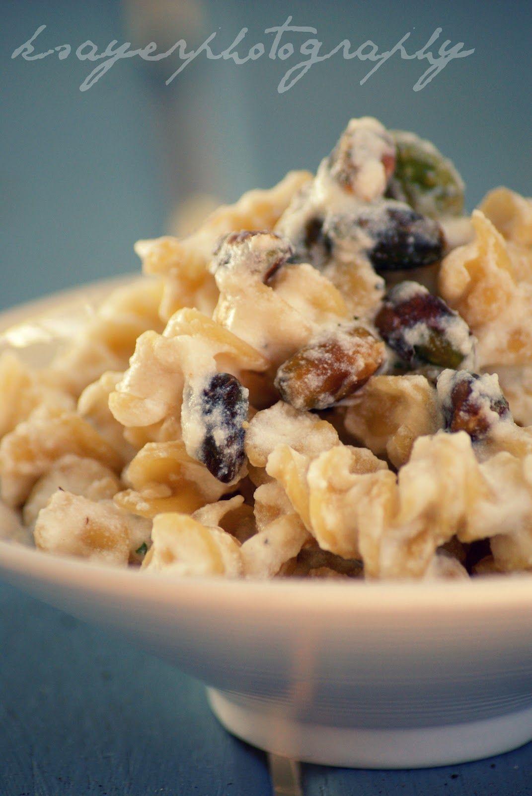 Ricotta & Pistachio Pasta | #glutenfree #vegetarian