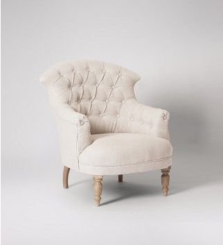 Nice Our French Style Armchair, The Lille, With On Trend, Misty Grey Cotton  Upholstery. Celebrate Artisan Making At Swoon Editions, Hand Crafted  Designs Without ...