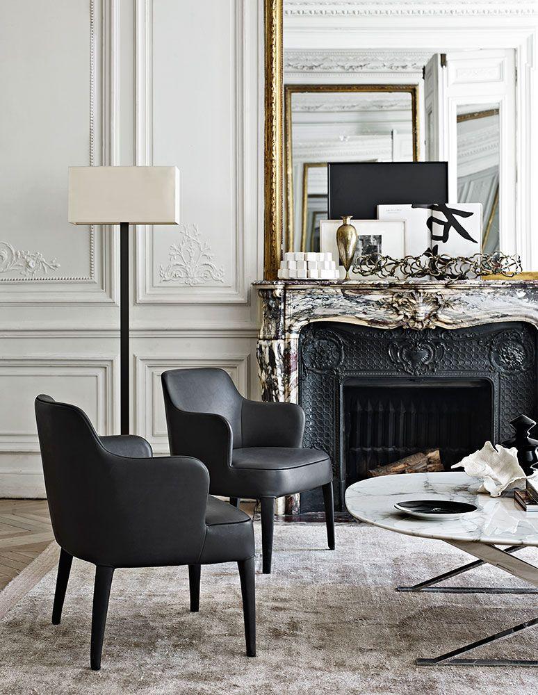 Un coin classique | design d\'intérieur, décoration, pièce à vivre ...