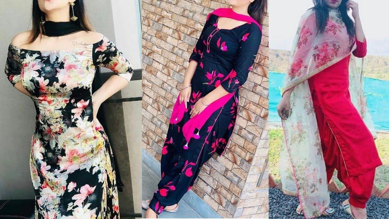 Top 30 Punjabi Suit Designs 2020   Latest Punjabi Suit Designs 2020 / Co