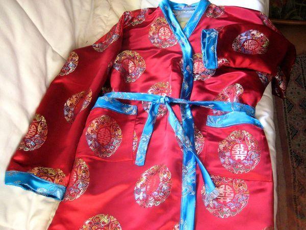 Kimono pour ma filleule.