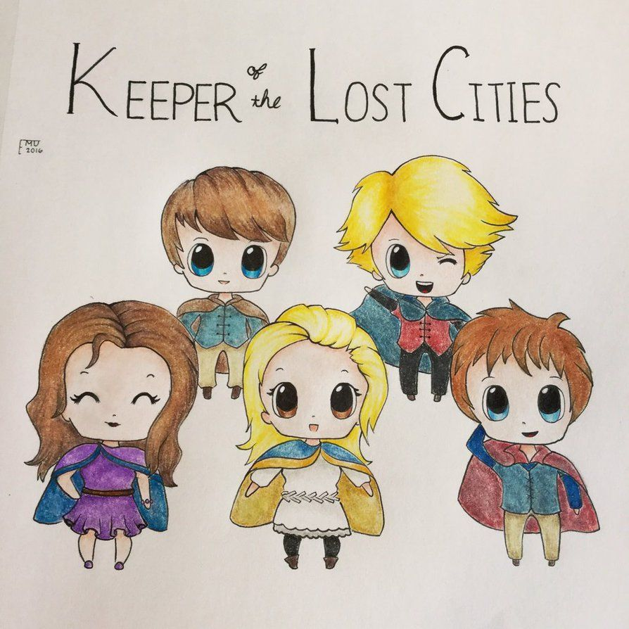 Keeper Of The Lost Cities: Chibis By Doodlingemu On Deviantart