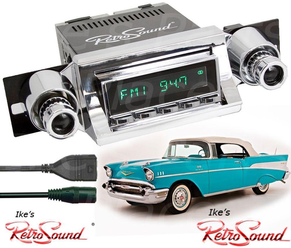 RetroSound 57 Ch Bel Air/Sedan Hermosa-C Radio/RDS/USB/Mp3