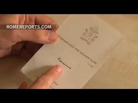 Así es la tarjeta de felicitación de Navidad del Papa Francisco este año