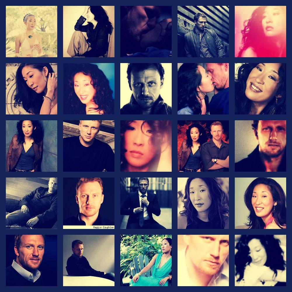 Great couples on Tv Shows:Owen & Cristina, I love them. Grey's Anatomy