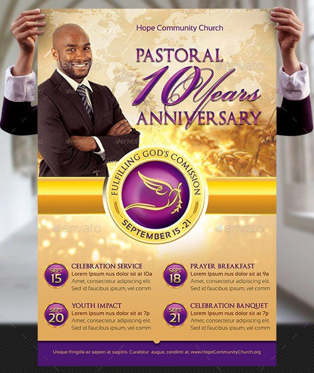 Loyalty Pastor Anniversary Program - kingdomprograms.com | Pastors ...