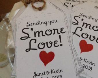 smores sayings | Smore wedding favor, Smore labels, Smore tag, Smore ...