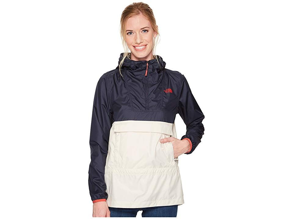 715cc67b6 The North Face Fanorak (Vintage White/Urban Navy) Women's Coat. A ...