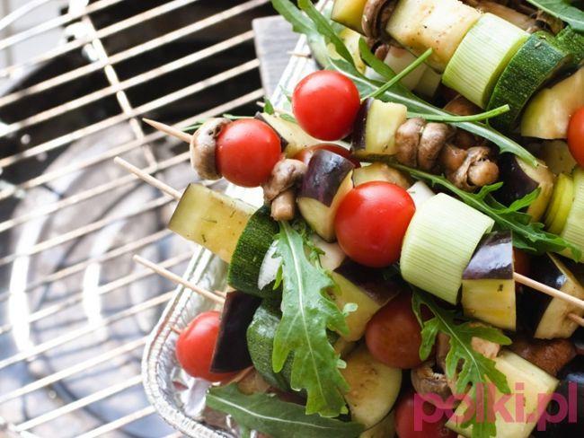 Warzywne szaszłyki z grilla