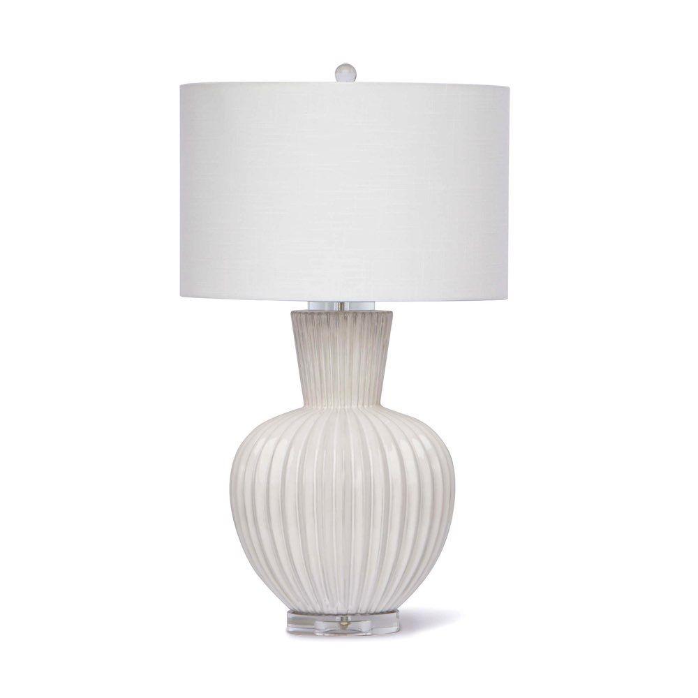 Regina Andrew Design Madrid Ceramic Table Lamp White 13 1274 Ceramic Table Lamps White Table Lamp Table Lamp