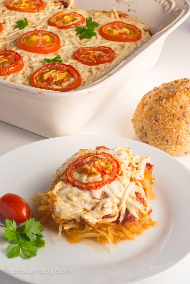 Vegan Spaghetti Squash Casserole