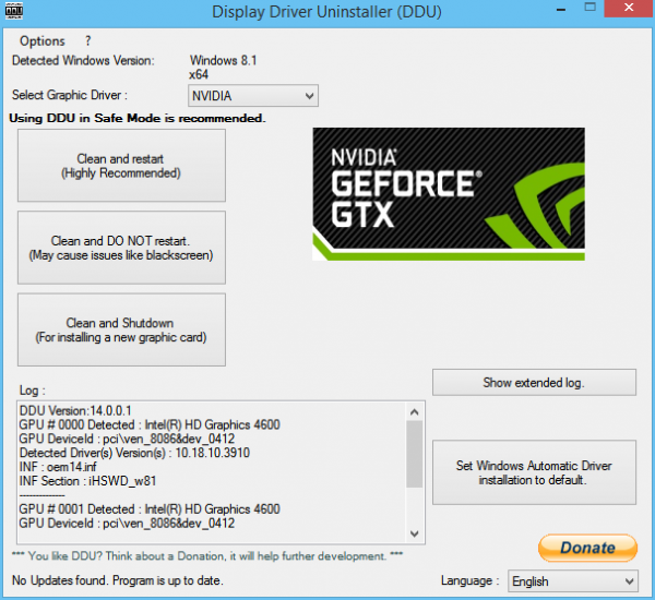 Display Driver Nvidia Windows Kernel Mode Driver Stopped Responding And Has Successfully Recovered