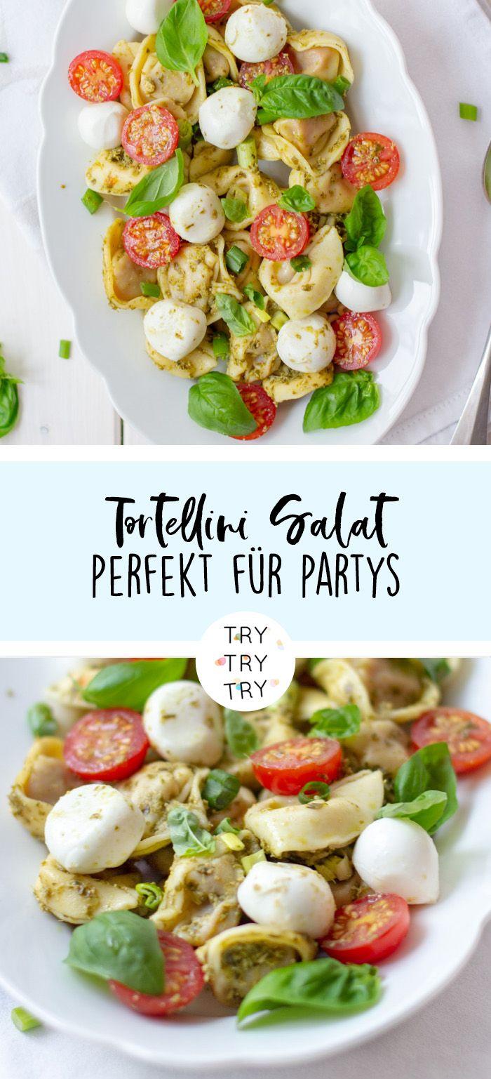 Photo of Italian tortellini salad