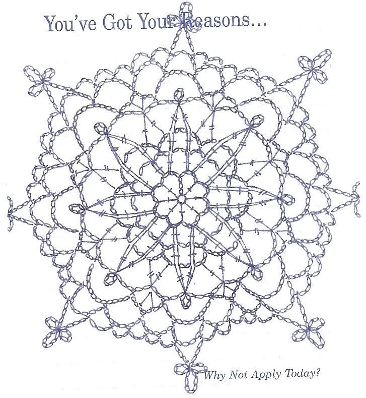 FREE DIAGRAM ~ C ~ 257 ~ Pitter Patter: Crochet doily