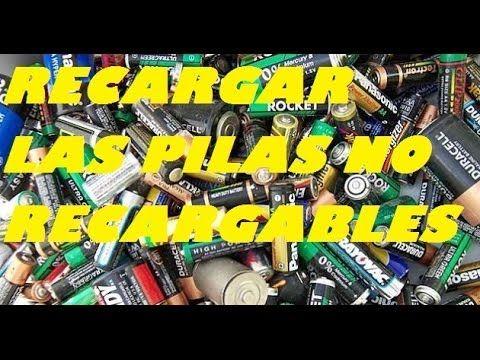 ▶ RECARGAR LAS PILAS NO RECARGABLES - YouTube