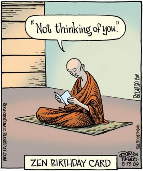 NO THINK In the textThe Straight Path, Zen Master Anzan Hoshin quotes the following from Zen Master Dogen'sFukanzazengi, orHow Everyone ...