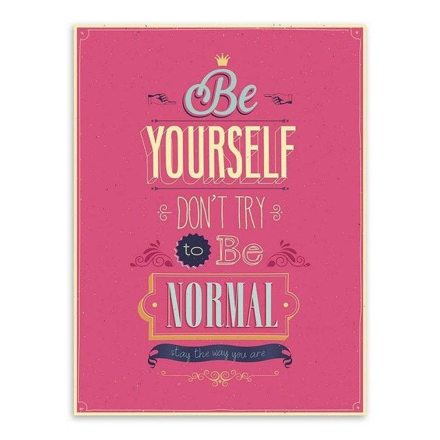 Colorful Motivational Vintage Life Quotes Poster Canvas Wall Art 60 Magnificent Life Quotes Posters