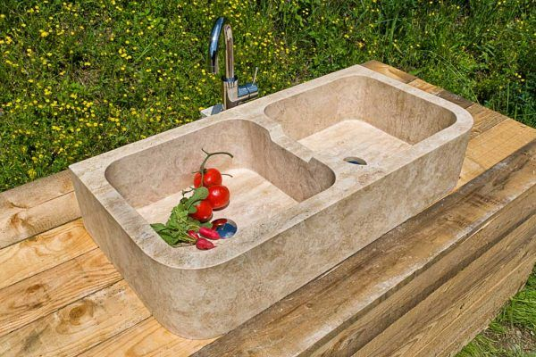 Lavandino in pietra per cucine | Lavelli cucina | Pinterest