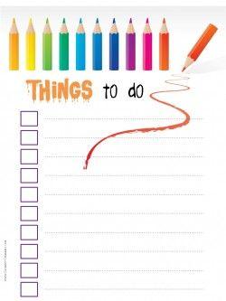 printable task list printable pinterest template and free
