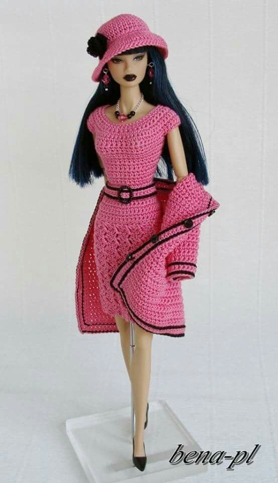 bena-pl Clothes for Fashion Royalty & Silkstone OOAK outfit   Barbie ...