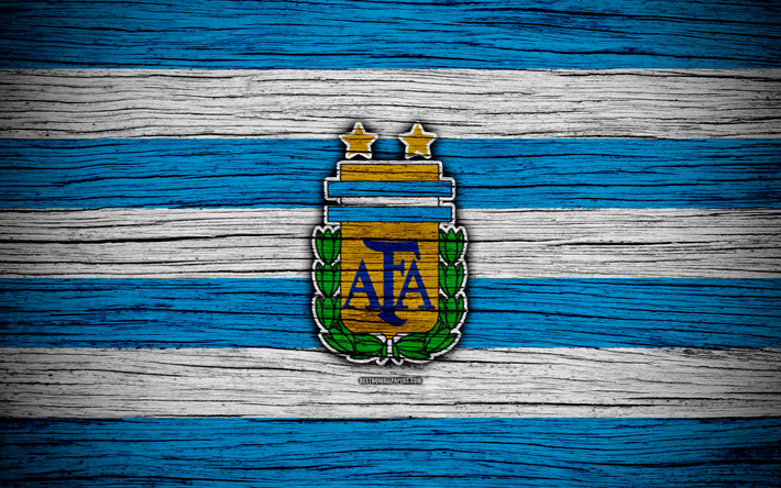 Download Wallpapers 4k Argentina National Football Team
