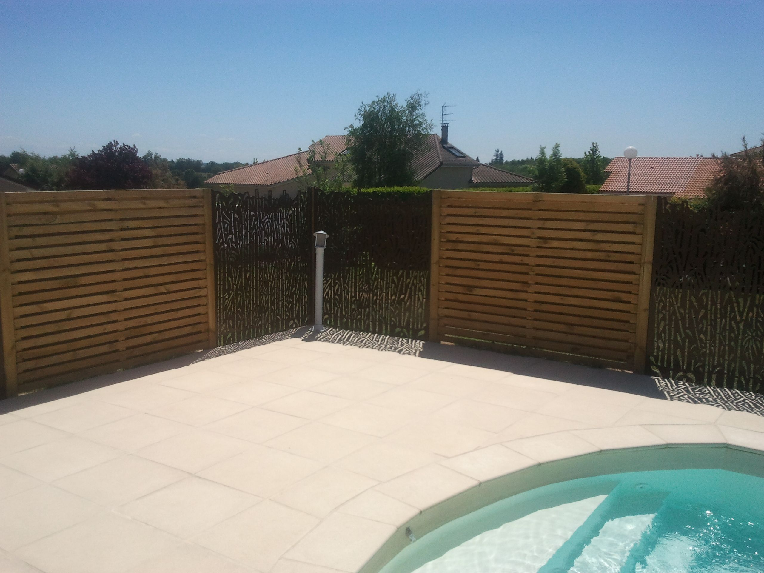 Rebeyrol rebeyrol cr ateur de jardins am nagement de for Amenagement jardin brise vue