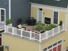 Best Flat Roof Garage With Deck Above Google Search Patio 400 x 300
