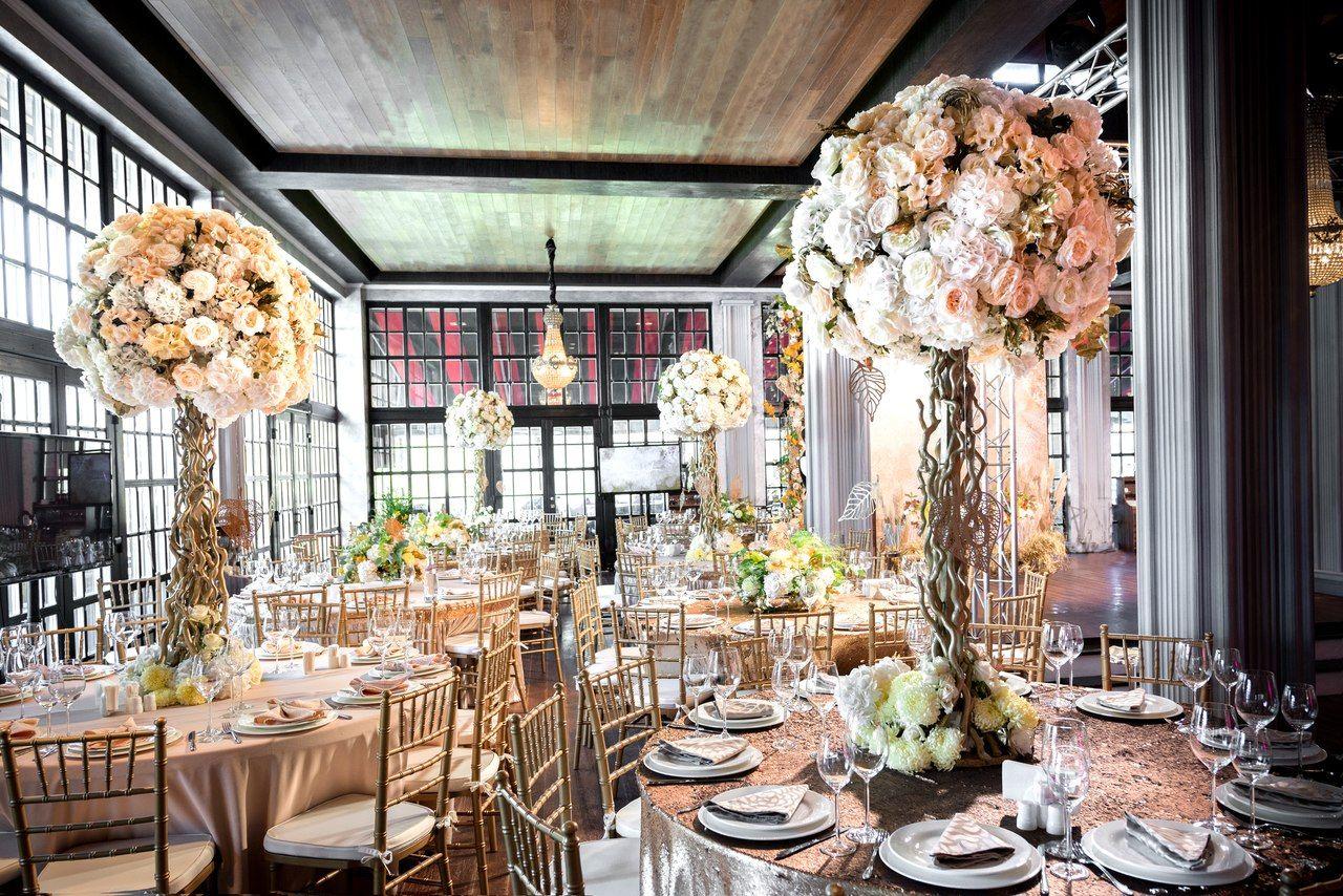 Декор и флористика - столы для гостей